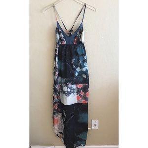 Anthropologie Gypsy 05 global splatter maxi dress